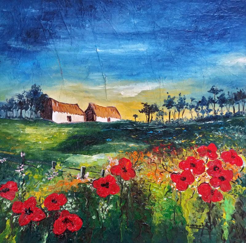 Summer – oil on canvas