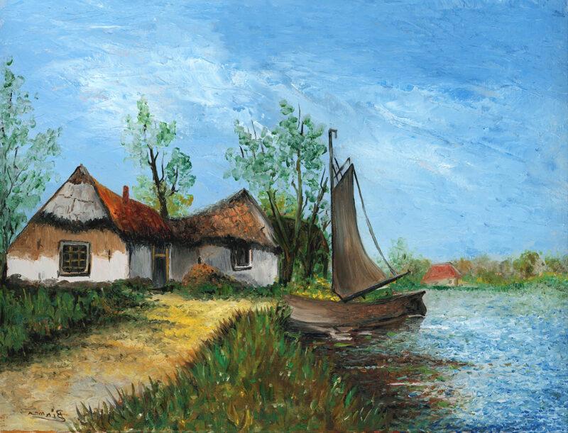 Summer Landscape – oil on canvas
