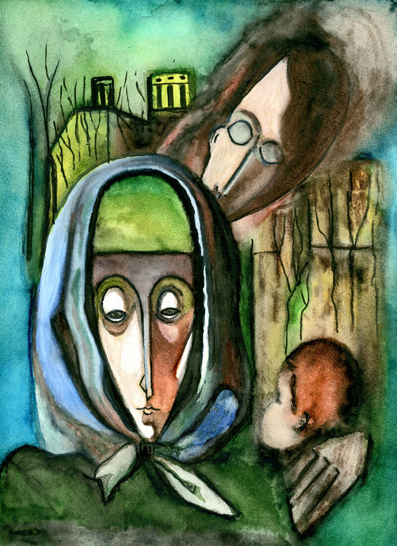 Family – watercolor