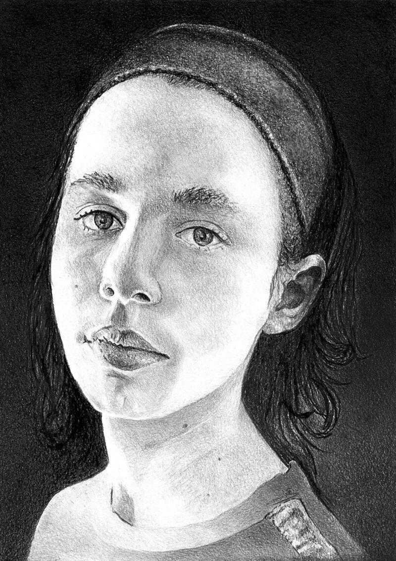 Portrait – pitt pencils